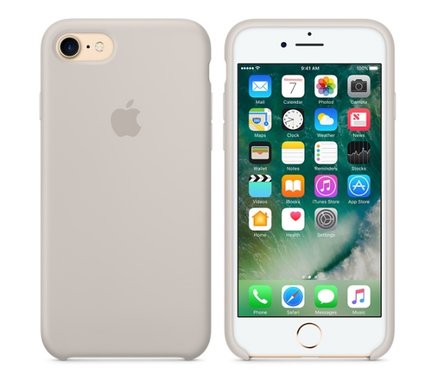 bd608088d81d56 Silikonowe etui Apple iPhone 7/ 8 silicone case stone – iOpen ...